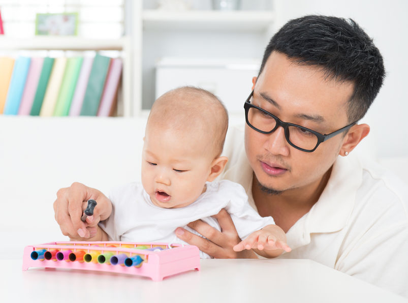 Get the Child Familiar with Music
