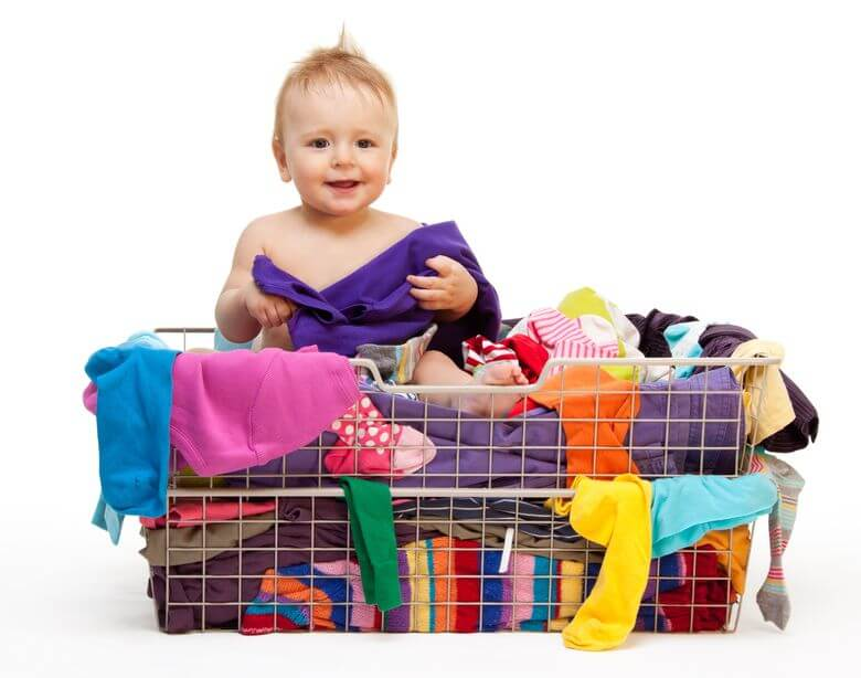 Keeping the Cleanliness of the Babys Clothes Storage