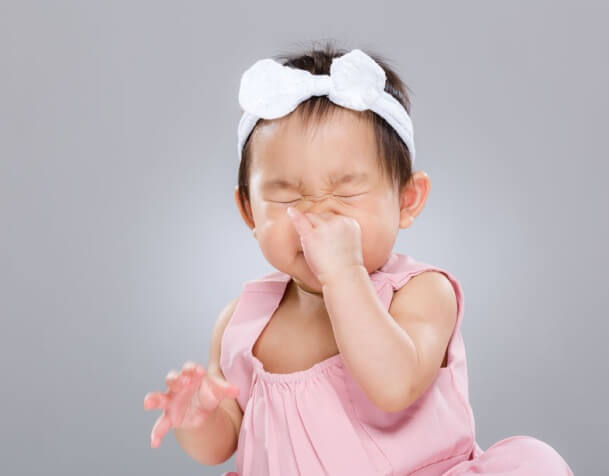 When the Baby Has A Stuffy Nose