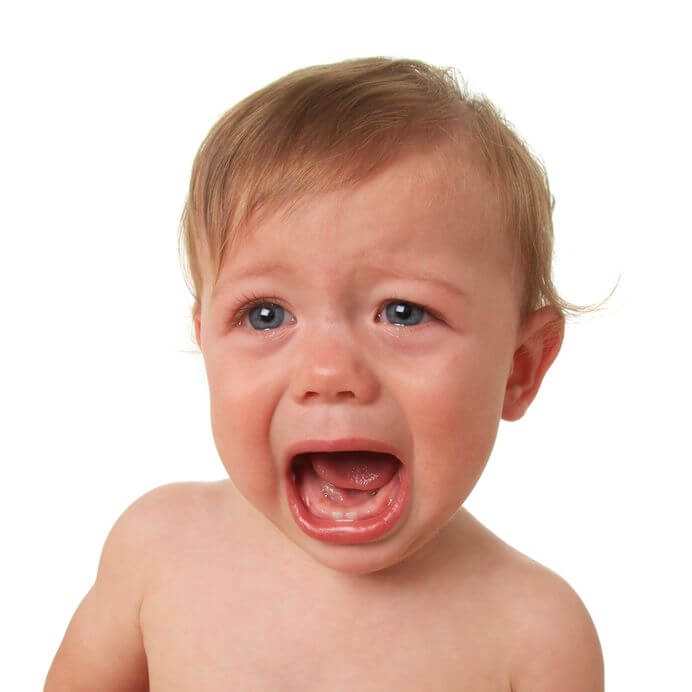 Why does the Baby Rarely Cry?